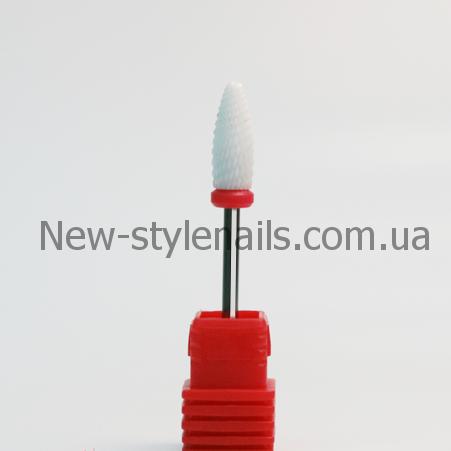 Насадка для фрезера керамическая, конус (F)
