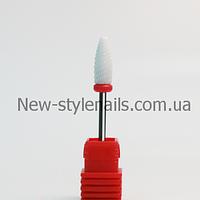 Насадка для фрезера керамическая, конус (F), фото 1