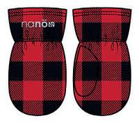 Зимние флисовые рукавицы для мальчика Nano BMITP503-F17 Chili. Размеры 12/24 мес -10/12.