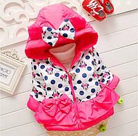 Курточка детская теплая  для девочки
