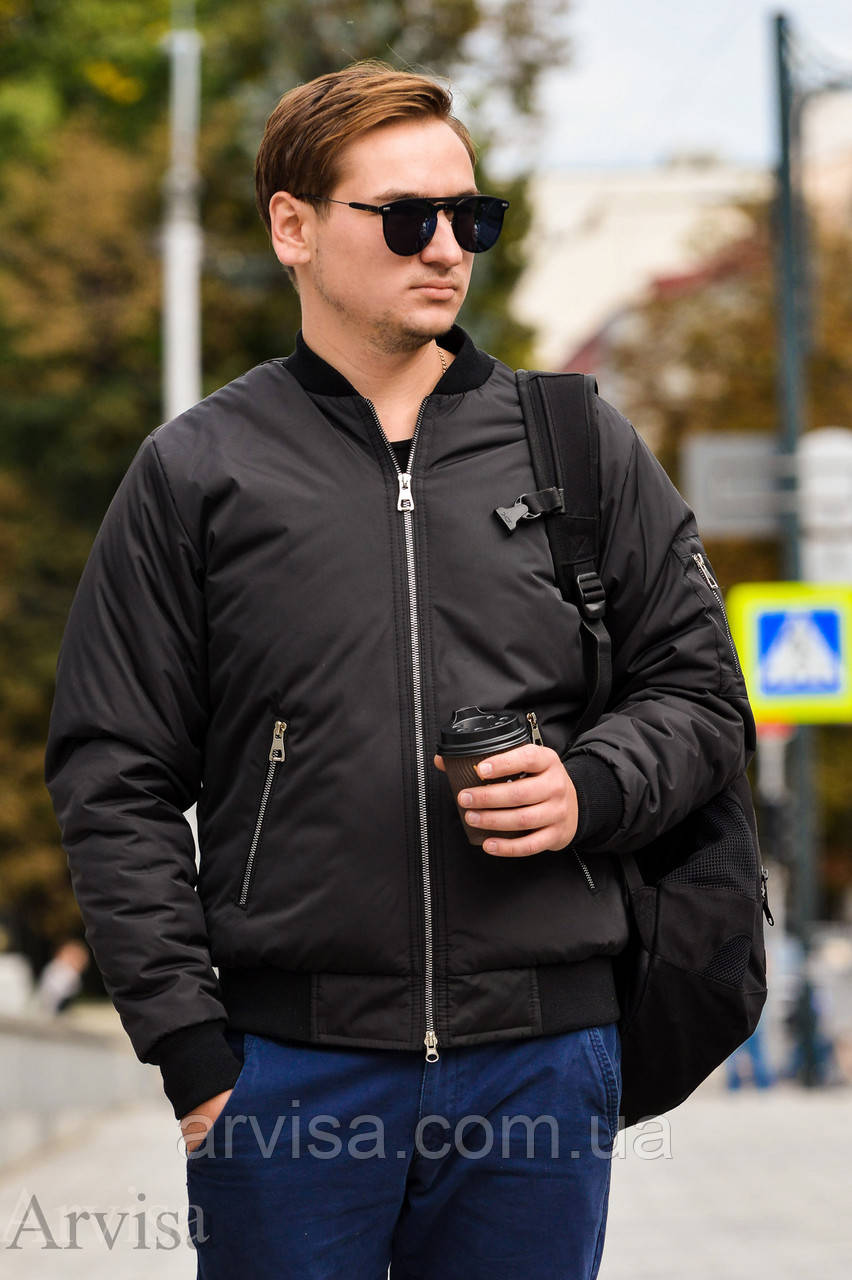Бомбер мужской куртка Размер 42-44