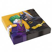 Салфетки  Лего Бэтмен 10 штук лицензионные