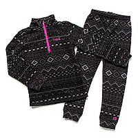 Флисовый костюм для девочки NANO BUWP602-F17Antic Pink. Размер 89 - 146.