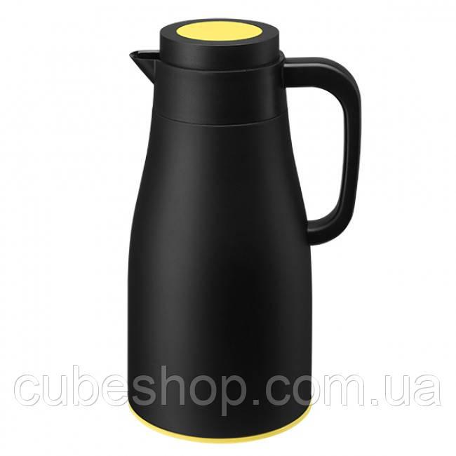 Термос Evo-Dewar PO Selected 1 л (черный-желтый)