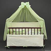 Постельный комплект в детскую кроватку Алинка 7 предметов