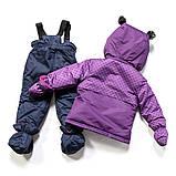 Зимний костюм для девочки PELUCHE F17M08BF Purple Wave / Pale Navy. Размеры 75 - 97., фото 2