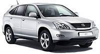 Защитные дуги заднего бампера Lexus RX (2003-2009)