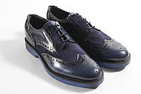 Итальянские мужские туфли броги 44 размер 29,5 см