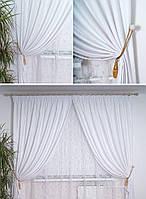 Ткань для штор блэкаут СОФТ белоснежный  (двухсторонняя)