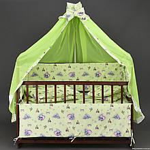 Комплект постельного белья в детскую кроватку Семерка