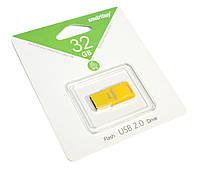 Флешка 32Gb Smartbuy Funky series Yellow / SB32GBFU-Y