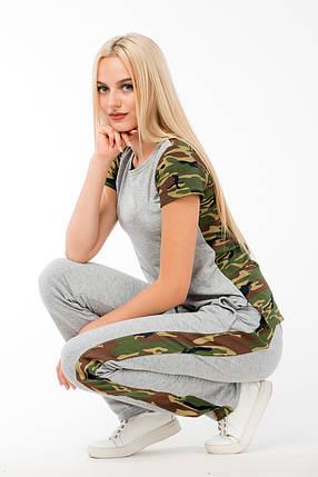 КОСТЮМ СПОРТИВНЫЙ  ~Military~ цвет серый, фото 2