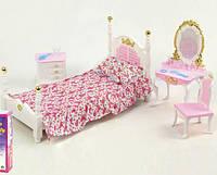 Мебель для кукол Gloria 2319 Cпальня