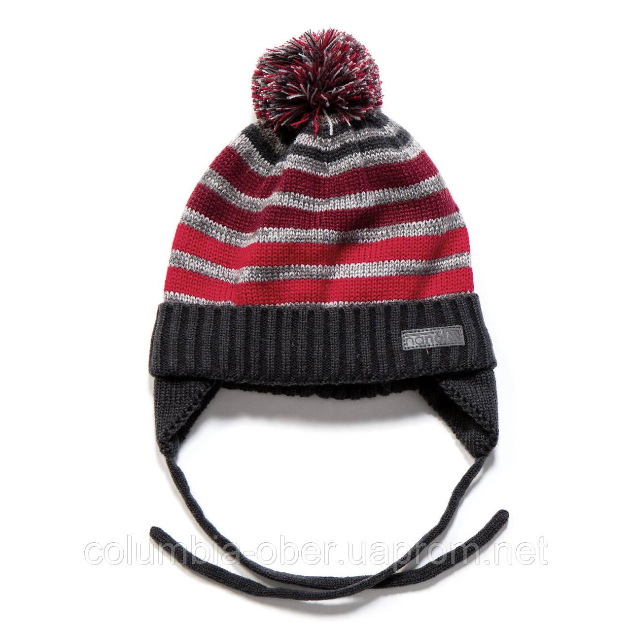 Зимняя шапка для мальчика Nano F17 TU 255Deep Grey Mix. Размеры 9/12 мес -  7/12.