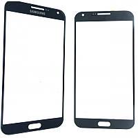 Стекло дисплея Samsung E700h / E7 Black (для переклейки)