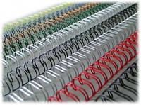Пружины для брошюровщика Comb Bind A4 21-Ring Black (100шт)