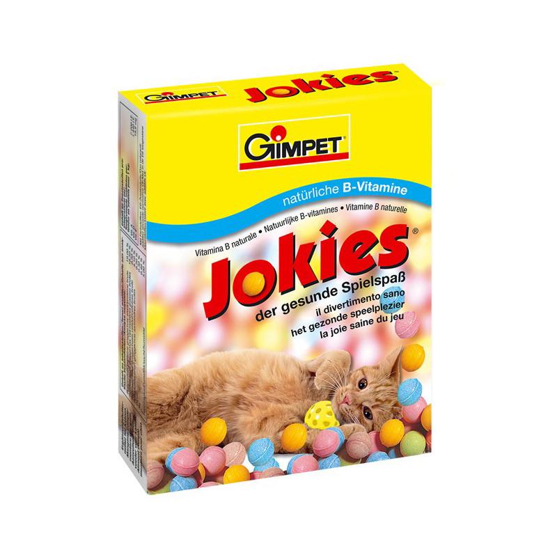 GimCat (Джимкет) JOKIES 520г - витамины для возбуждения аппетита,а также здоровой и блестящей шерсти для кошек
