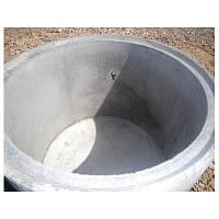 Стакан бетонный(кольцо с дном) для септиков, канализации