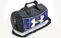 Сумка для спортзала Бочонок UNDER ARMOUR GA-6278-2 (полиэстер,р-р 43х22х24см, камуфляж фиолетовый)