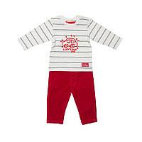 Комплект для мальчика, трикотажная кофта, штаны
