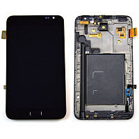 Дисплей Samsung Galaxy Note N7000 / I9220 Original complete with frame Black