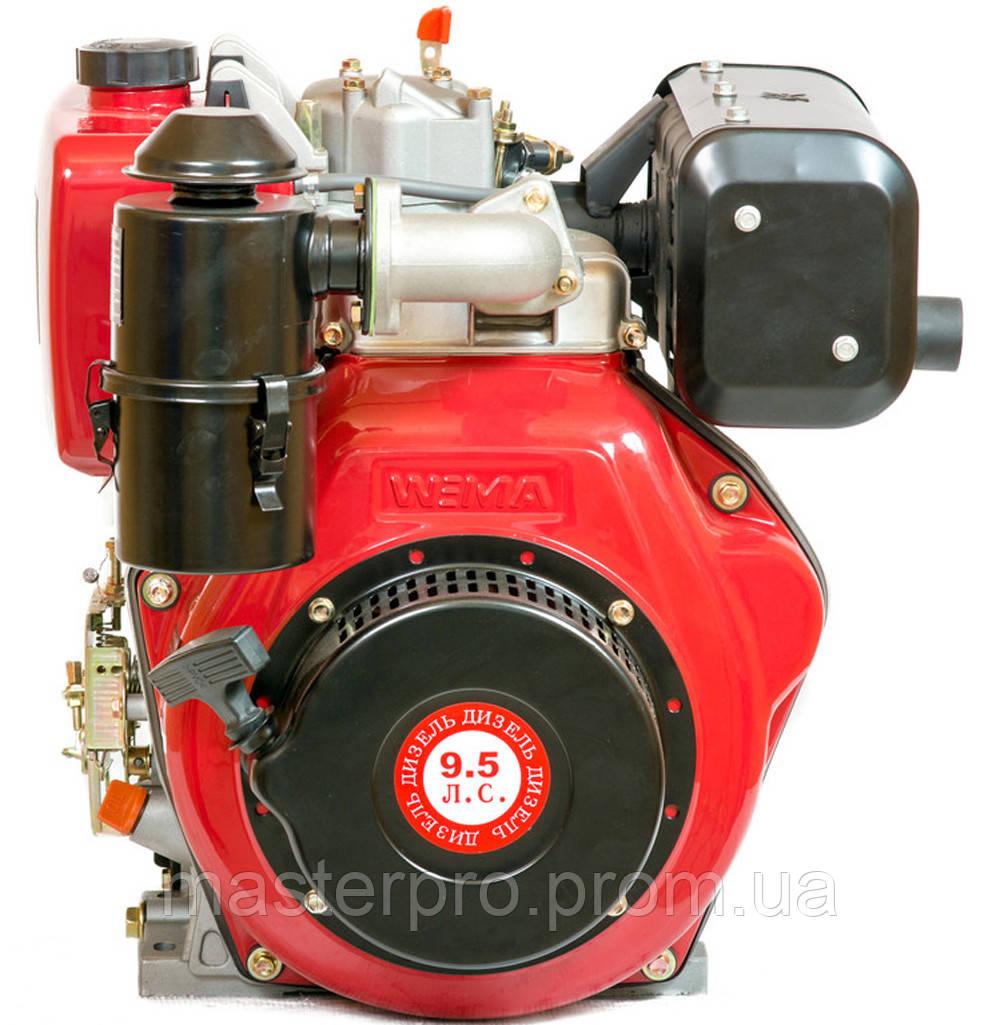 Двигатель дизельный Weima WM186FBSE(R) (Редуктор 1800 об/мин.Вал шпонка 25 мм)