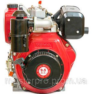 Двигатель дизельный Weima WM186FBSE(R) (Редуктор 1800 об/мин.Вал шпонка 25 мм), фото 2