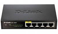 Коммутатор D-Link DES-1005P 5 ports 10/100
