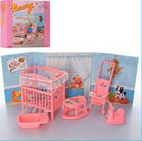 Мебель для кукол Gloria 9409 Детская комната