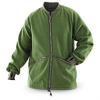 Флисовая куртка-утеплитель оригинал ВС Великобритании 1 сорт - Олива, фото 1