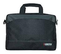 Сумка для ноутбука 14' Lobster LBS14T2BP, Black, полиэстер, 36 х 31 х 4.5 см