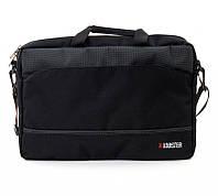 Сумка для ноутбука 15.6' Lobster LBS15T2BP, Black, полиэстер, 41 х 29 х 3.7 см