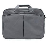 Сумка для ноутбука 16' Continent CC-012, Grey (нейлон/полиэстер, 40 x 28 x 3.5 см)