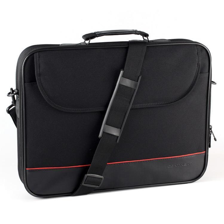 dbffae5ecfae Сумка для ноутбука 16' Continent CC-100, Black (нейлон/полиэстер, 40 x 29 x  5 см)