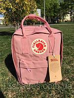 Рюкзак Fjallraven Kanken Classic Bag pink.  Рефлективное лого. Живое фото. Качество Топ! (канкен)
