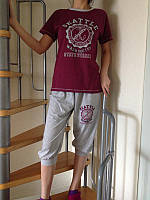 Женская пижама - комплект для дома. Турция Falkon, TM Fawn. Прекрасный вариант домашнего костюма.