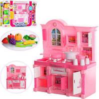 Мебель для кукол Кухня  с продуктами и звуками