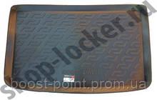 Коврик багажника (корыто)-полиуретановый, черный Fiat 500 L (фиат 500 л 2012г+)