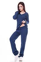 Теплый женский костюм MERY джинс ТМ FashionUp 42-46 размеры