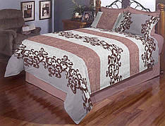 Семейное постельное белье Завитушки Gold