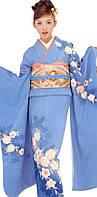 Японский костюм (машинная вышивка)