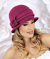 Шикарная женская шляпка MELA темно-розовый