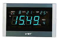 Часы сетевые 771 Т-5 синие, пульт ДУ LO