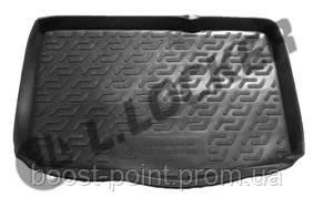 Коврик багажника (корыто)-полиуретановый, черный Fiat Punto 3 (фиат пунто 3 2006г+)