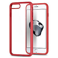 Чехол Spigen для iPhone 8 Plus / 7 Plus Ultra Hybrid 2, Red (043CS21729), фото 1