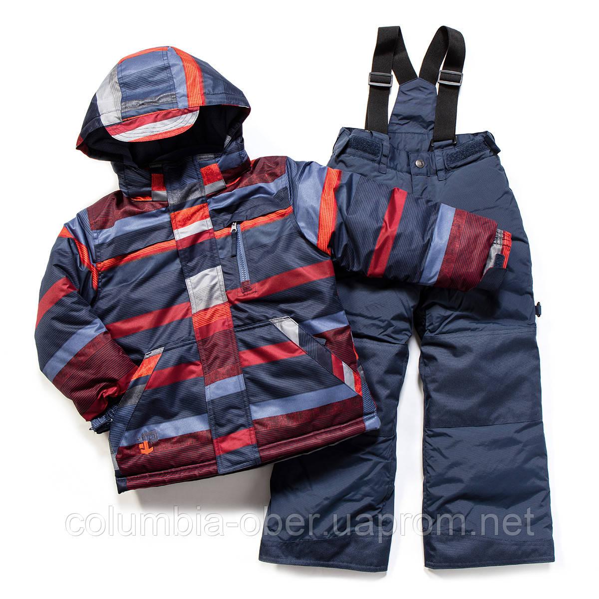 Зимний костюм для мальчика PELUCHE F17 M 53 EG Spicy Red Pepper / Dk Heaven. Размеры 4 - 8.