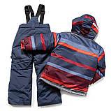 Зимний костюм для мальчика PELUCHE F17 M 53 EG Spicy Red Pepper / Dk Heaven. Размеры 4 - 8., фото 2