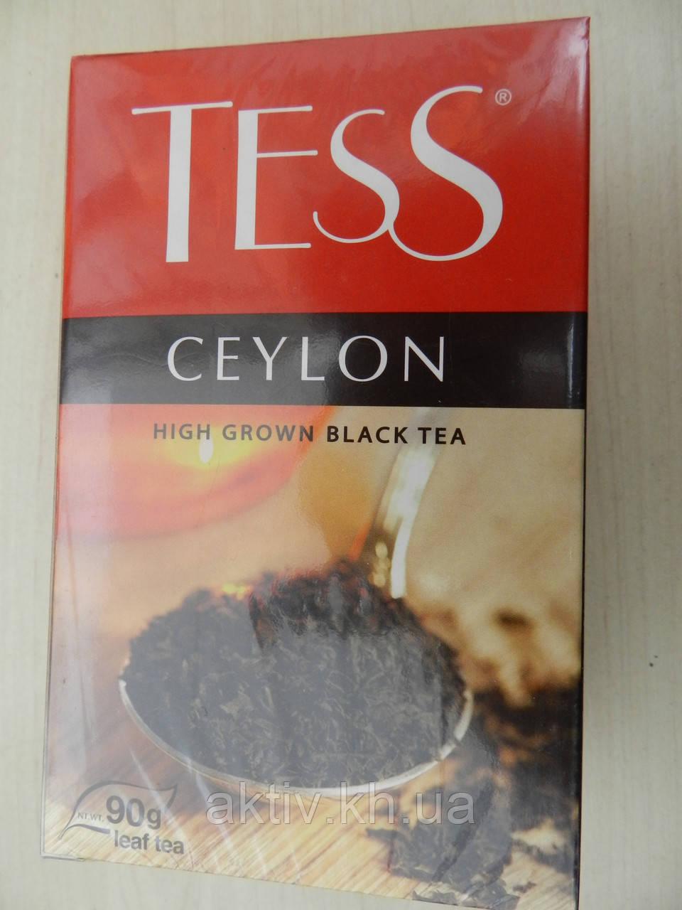 Чай чорний Тес