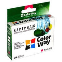 Картридж ColorWay EPSON St. T26/27/TX106/C91 Magenta T0923