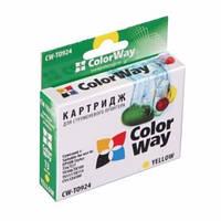 Картридж ColorWay EPSON St. T26/27/TX106/C91 Yellow T0924